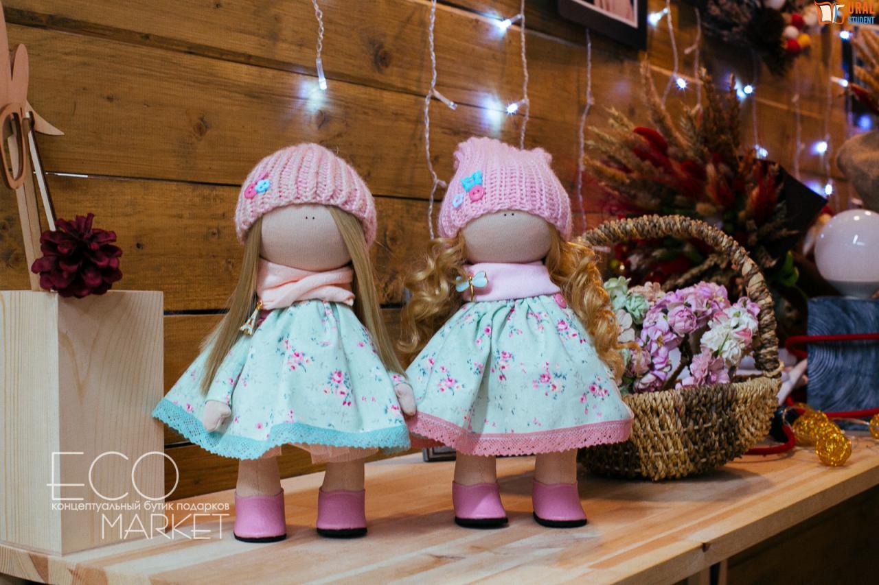 Интерьерные куклы мастер класс фото